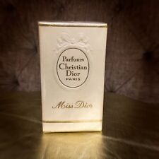 Vintage Christian Dior Miss Dior Pure Perfume  EDT 60s Sealed 7.5ml