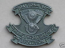 HARLEY DAVIDSON DAYTONA 1984 EVOLUTION HOG VEST PIN