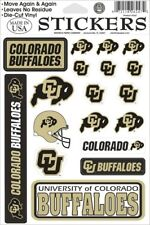 18 University of Colorado Buffaloes Decal Stickers Sheet Stickers NCAA College