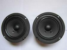 """(2) NEW 5"""" Speaker Woofers.Full Range 8 ohm.five inch.monitor replacement PAIR"""