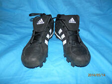 Adidas Youth size 3.5 Baseball Softball Football Cleat 113047 black white
