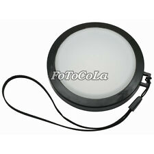 55mm White Balance Lens Filter Cap with Filter Mount 55