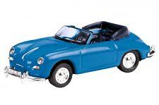 Porsche 356 a Cabrio Azul Schuco Edición 1:87 26062
