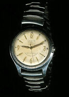 Vintage Louis 17 Jewels Incabloc Swiss Made Mens Wrist Watch - FREE Shipping USA