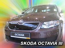 SKODA OCTAVIA  III  2013 - 10/2016  Front grill winter cover HEKO 04009  UPPER