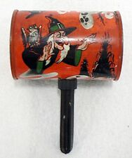 VINTAGE HALLOWEEN PARTY NOISE MAKER WICKED WITCH
