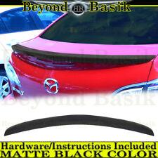 2010 2011 2012 2013 Mazda 3 MATTE BLACK Factory Style Lip Spoiler Wing Fin