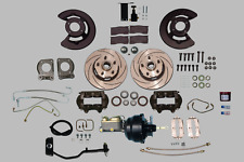 Ultra Complete 67-69 power assisted KH Ford AT Mustang 5 lug disc brake kit