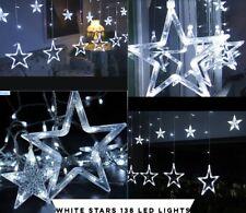 Star Curtain Light 138 Led 12 Stars