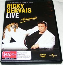 RICKY GERVAIS LIVE ANIMALS-- (Dvd)