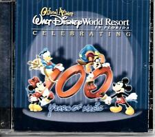 "WALT DISNEY WORLD RESORT..OFFICIAL ALBUM..""CELEBRATING 100 YEARS""... SOUVENIR CD"
