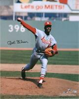 "Bob Gibson St. Louis Cardinals Autographed 16"" x 20"" Pitching Photograph"