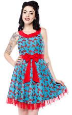 Sourpuss Cherry Cobbler Dance Dress, Size M (size 10) Brand New