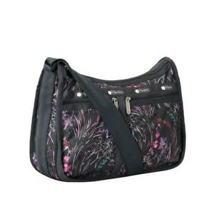LeSportsac Classic Deluxe Everyday Bag Crossbody in Windswept Floral Shadow NWT