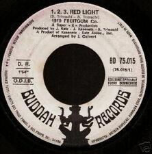 1910 FRUITGUM CO 45 TOURS PROMO ITALIE 123 RED LIGHT