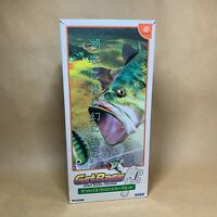 Sega Bass Fishing | Get Bass | Dreamcast | Japanese | NTSC-J | Game & Rod Set
