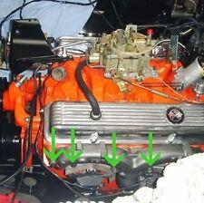 HK HT HG 307 327 350 RAMS HORN EXHAUST MANIFOLD BOLTS (12)