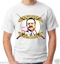 T-Shirt IL SUO E' CULO LA MIA E' CLASSE - FANTOZZI - PAOLO VILLAGGIO - CATELLANI