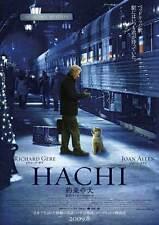 HACHIKO: A DOG'S STORY Movie Promo POSTER Japanese Richard Gere Sarah Roemer