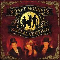 3 Daft Monkeys - Social Vertigo [CD]