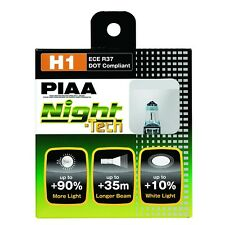 Headlight Bulb-H1 Night-Tech Replacement Bulb PIAA 10701