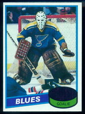 1980-81 TOPPS #31 Mike Liut NM-MINT RC St. Louis Blues Rookie UNSCRATCHED Card