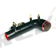REV9 SILICON TURBO INLET INDUCTION HOSE BLACK FOR 02-07 SUBARU WRX 04-14 STI