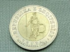 Albania 100 Leke 2000 Ancient Illyrian Warrior Queen Teuta with Shield and Spear