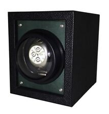 Orbita Piccolo 1 Green Single Automatic Watch Winder Box 5 Year Battery W02756