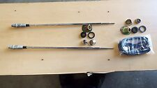 63 64 CHEVROLET IMPALA Pair Right & Left Rear Radio Antenna With Cable 1963 1964