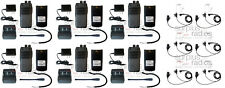 QTY6 SRcommunications SR-D1V 136-174MHz 256Ch digital/analog DMR radio Headsets