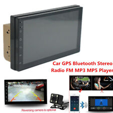 "Android 8.0 7"" 2 DIN Auto GPS Bluetooth Stereo Radio FM MP3 MP5 Player Universal"