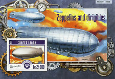 Sierra Leone 2015 MNH Zeppelins & Dirigibles 1v S/S Airships Aviation