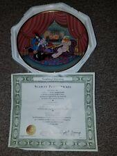 Looney Tunes Collector Plates Scarlet Pumpernickel 24 karat gold