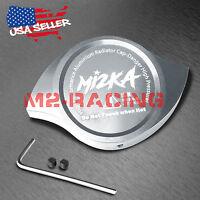 Silver Billet Aluminum Radiator Protector Pressure Cap Cover High Performance