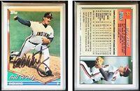 Bill Wertz Signed 1994 Topps #64 Card Cleveland Indians Auto Autograph