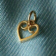 *Retired* James Avery HEART CHARM 14k Gold