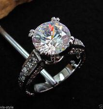 Runde Modeschmuck-Ringe im Ehering-Stil aus Metalllegierung