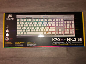 Corsair CH-9109114-NA K70 RGB MK.2 SE Cherry MX Speed Mechanical Gaming Keyboard