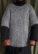 CHAIN MAIL ALUMINUM SHIRT LARGE SIZE 9 MM ROUND RIVETED ANODIZED