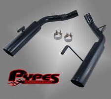2005-2010 Mustang GT Pypes Axle-Back Muffler Delete Kit Black w/ 4' Tip SFM60MSB