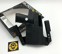 "Black Point Tactical Mini Wing IWB Black Kydex RH Holster 1911 3"" COMPACT 102441"