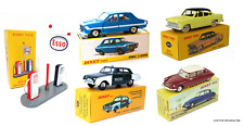 Set of 5 DINKY TOYS ATLAS 1:43 Renault Citroën Ford Simca Gas DIECAST MODEL CAR