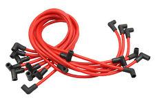 9PCS RED High Performance 10.5 MM Spark Plug Wire Set HEI SBC BBC 350 383 454