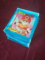 Panini Dragonball Z 50 packs packets bustine sobres Dragon Ball Z Bola de Drac