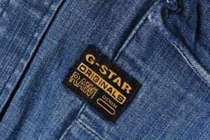 G-Star Raw Classic Denim Long Sleeve Shirt Size XL