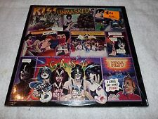 KISS LP UNMASKED WITH ALL INSERTS BEAUTIFUL COPY
