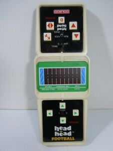 Vintage 1980's Coleco Electronic Head to Head Football