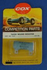 COX 1:24 SCALE SLOT CAR RACING COMPETITION PARTS  TAPER WOUND RESISTOR 13.7 OHMS