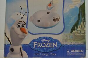 Disney FROZEN Olaf Inflatable Lounge Chair With Back Rest NEW